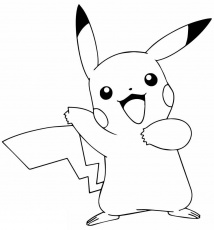 Coloring pages ideas : Awesome Pikachu Coloring Pages For ...