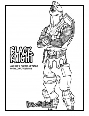 fortnite coloring pages easy fortnite coloring pages ...