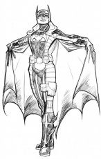 Batgirl #23 (Superheroes) – Printable coloring pages