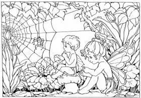 complex-fairy-coloring-pages-printable-810237 Â« Coloring Pages for ...