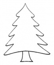 1000+ ideas about Tree Outline | Wooden Christmas ...