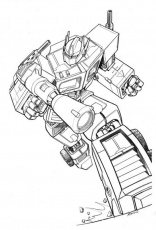 Transformers Optimus Prime Coloring Pages | Coloring Pages Kids ...