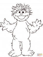 Sesame street coloring pages | Free Coloring Pages