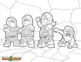 coloring pages | Lego ninjago ...