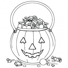 Trick Or Treat Coloring Pages at GetDrawings | Free download
