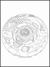 Beyblade Burst Coloring Pages 25