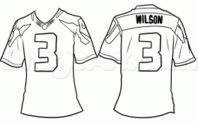 Football Jersey Drawing Lesson, Step by Step, Sports, Pop Culture ...