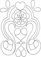Christmas Ornament Colouring Pages Printable Free For Kindergarten #