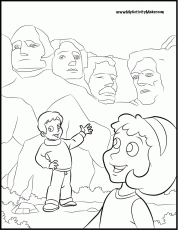 Face President Warren Harding Coloring Home Presidents Day Coloring Pages