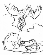 Coloring Pages of Finding Nemo – A Splendid Animated Adventure