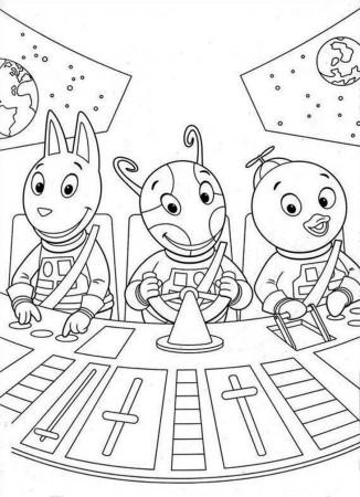 backyardigans colouring pages free backyardigans tasha coloring