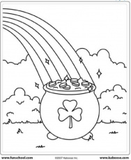 St. Patrick's Day Coloring Pages | Munchkins and Mayhem