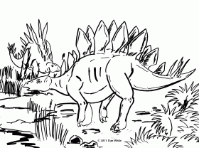 dinosaur coloring pages for kids printable. top 25 free printable ...