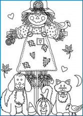 Printable Fall Coloring Pages Leaves Fall Printable Coloring Pages ...