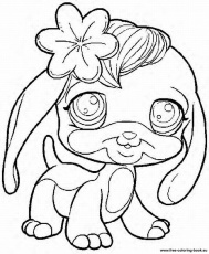 littlest pet shop pag Colouring Pages