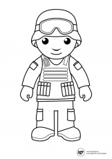 soldier | Printable Coloring Pages