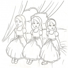 Barbie Movie Coloring Pages - Coloring Pages For All Ages