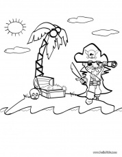 Best Photos of Pirate Coloring Template - Pirate Flag Coloring ...