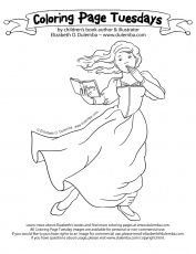 franny k stein coloring pages