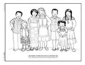 lds missionary coloring pages