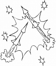 candy cane picture coloring page