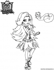 Coloring pages Monster High - Page 2 - Printable Coloring Pages Online