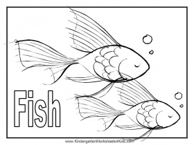Fish Coloring Pages - Free Coloring Pages For KidsFree Coloring