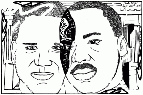 Mlk Coloring Pages - Free Coloring Pages For KidsFree Coloring