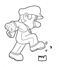 Mario-Brothers-Characters-To-Color | Printable Coloring Pages Gallery