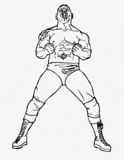 Coloring Pages For Wwe