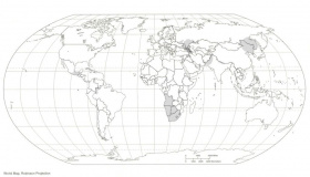map of the world coloring page pages pictures imagixs