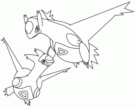 pokemon coloring pages of legendaries