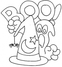 Free Coloring Pages Halloween - CartoonRocks.com