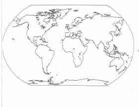 coloring page world map – AGIT VISUALDNSNET