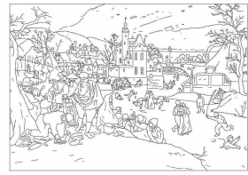 Art outline | Coloring Pages, Painters and Colouring ...