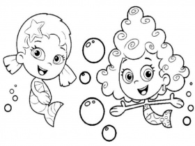 19 Free Pictures for: Bubble Guppies Coloring Pages. Temoon.us