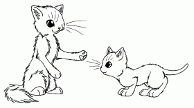 Warrior Cat Coloring Only Coloring Pages Coloring Home Warrior Cat Coloring Pages