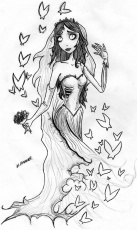 corpse bride coloring page coloring home