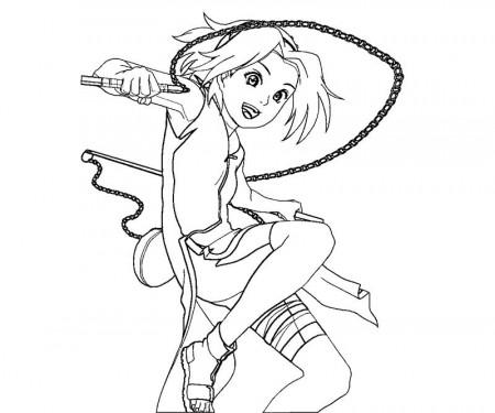 Sakura Haruno Coloring Pages