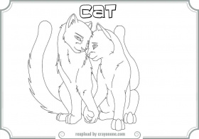 Warrior Cat Coloring Pages Mates | Printable Coloring Pages