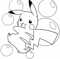 pikachu coloring pages - Free Large Images | Pokemon ...