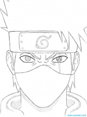 Naruto Coloring Pages Kakashi
