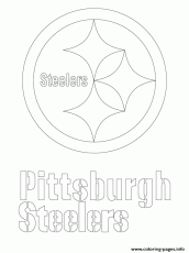 Print pittsburgh steelers logo football sport Coloring pages Free ...