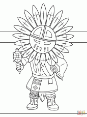 Native Americans coloring pages | Free Coloring Pages