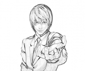 Death Note Light Yagami Face | Temtodasas