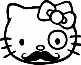 Mustache - Coloring Pages for Kids and for Adults