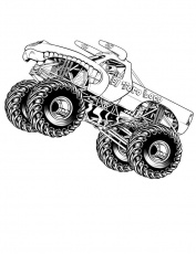 coloring pages | Monster Trucks ...