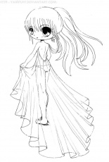 Anime Chibi Coloring Pages By Yampuff - Coloring Pages For All Ages