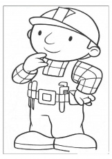Bob The Builder Coloring Pages A4 | Coloring Pages - Part 3