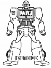 New Transformer Coloring Page 49 #3782